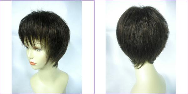 自然的短发玉米须造型~呈现动感线条!